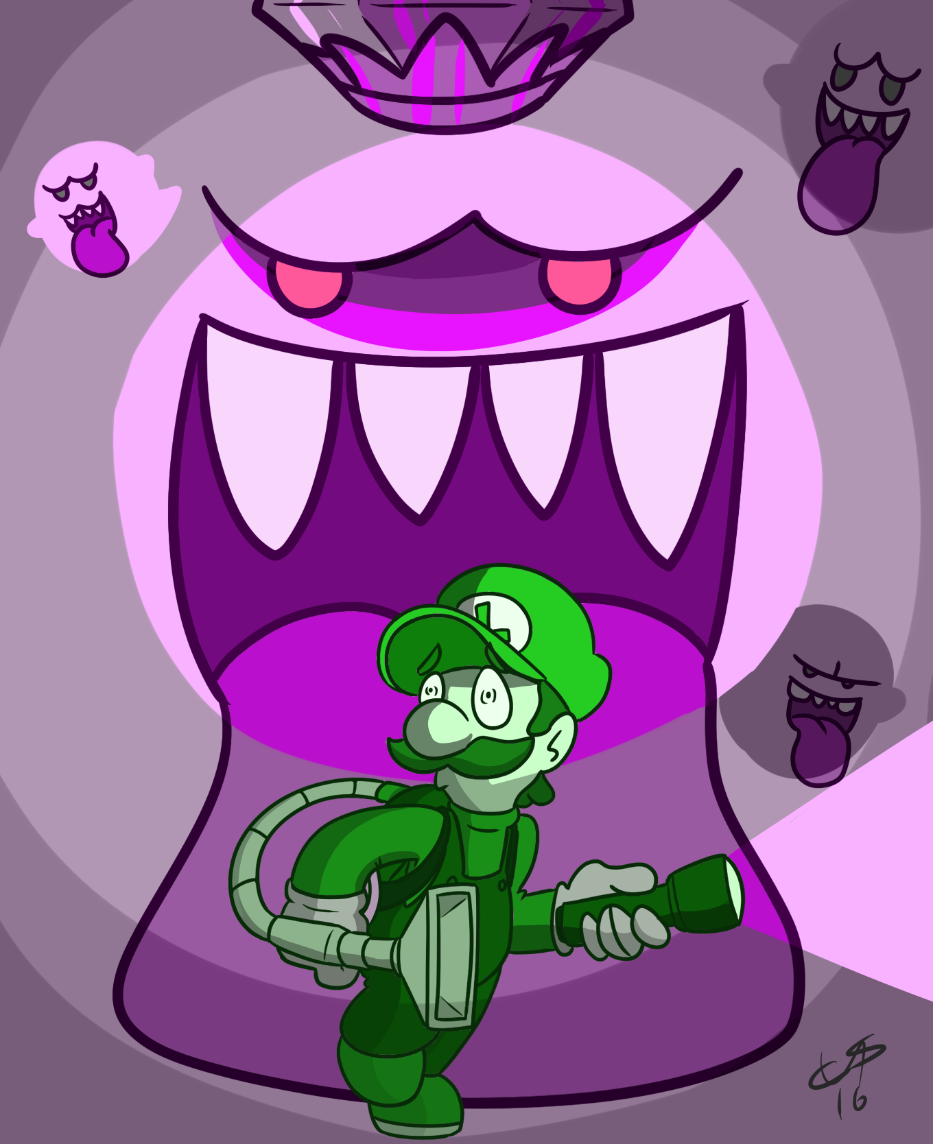 Luigi's mansion and nightmare
