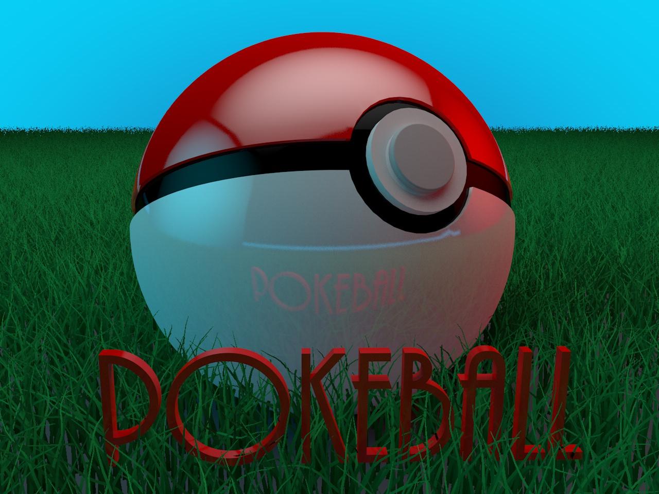 PokeBall on Grass