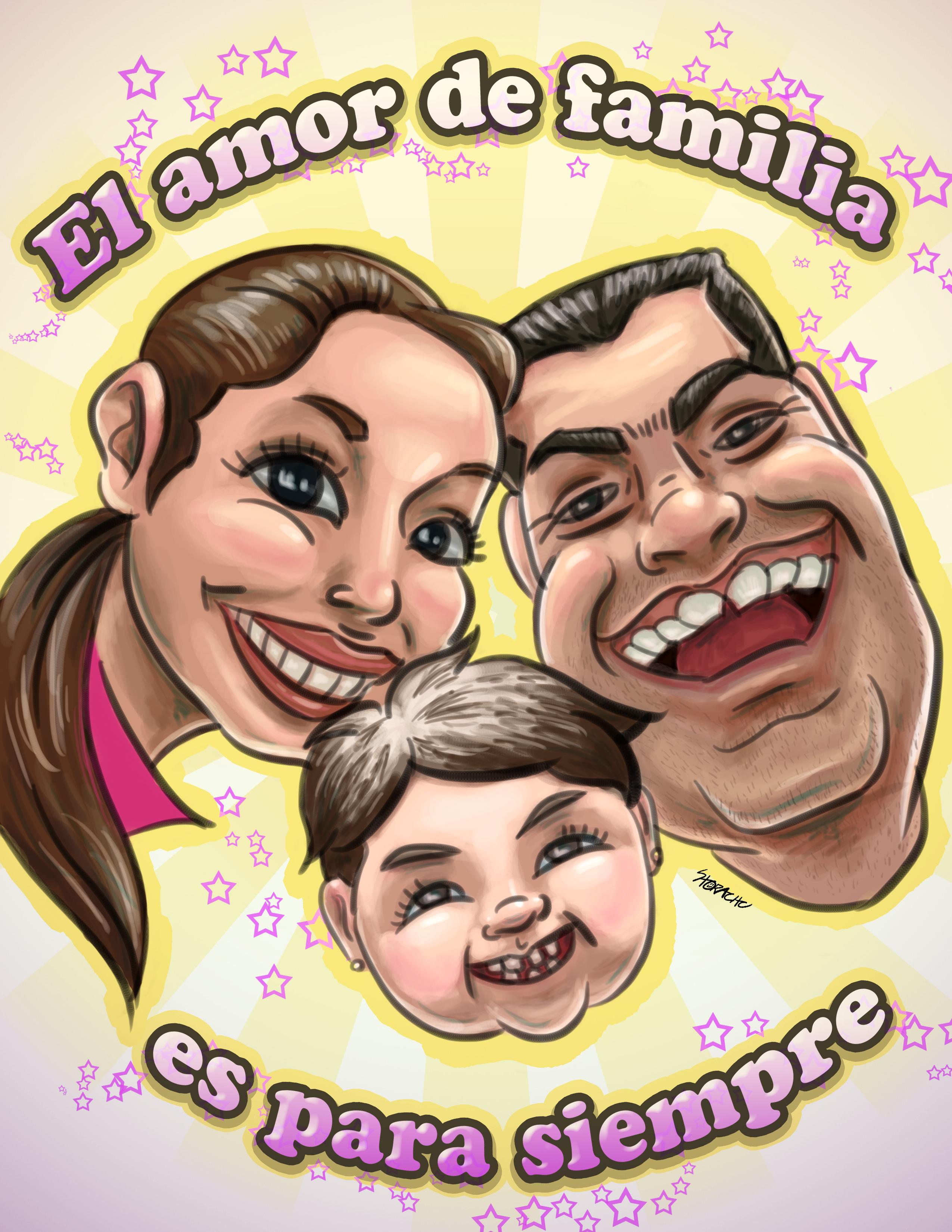 Family love is forever