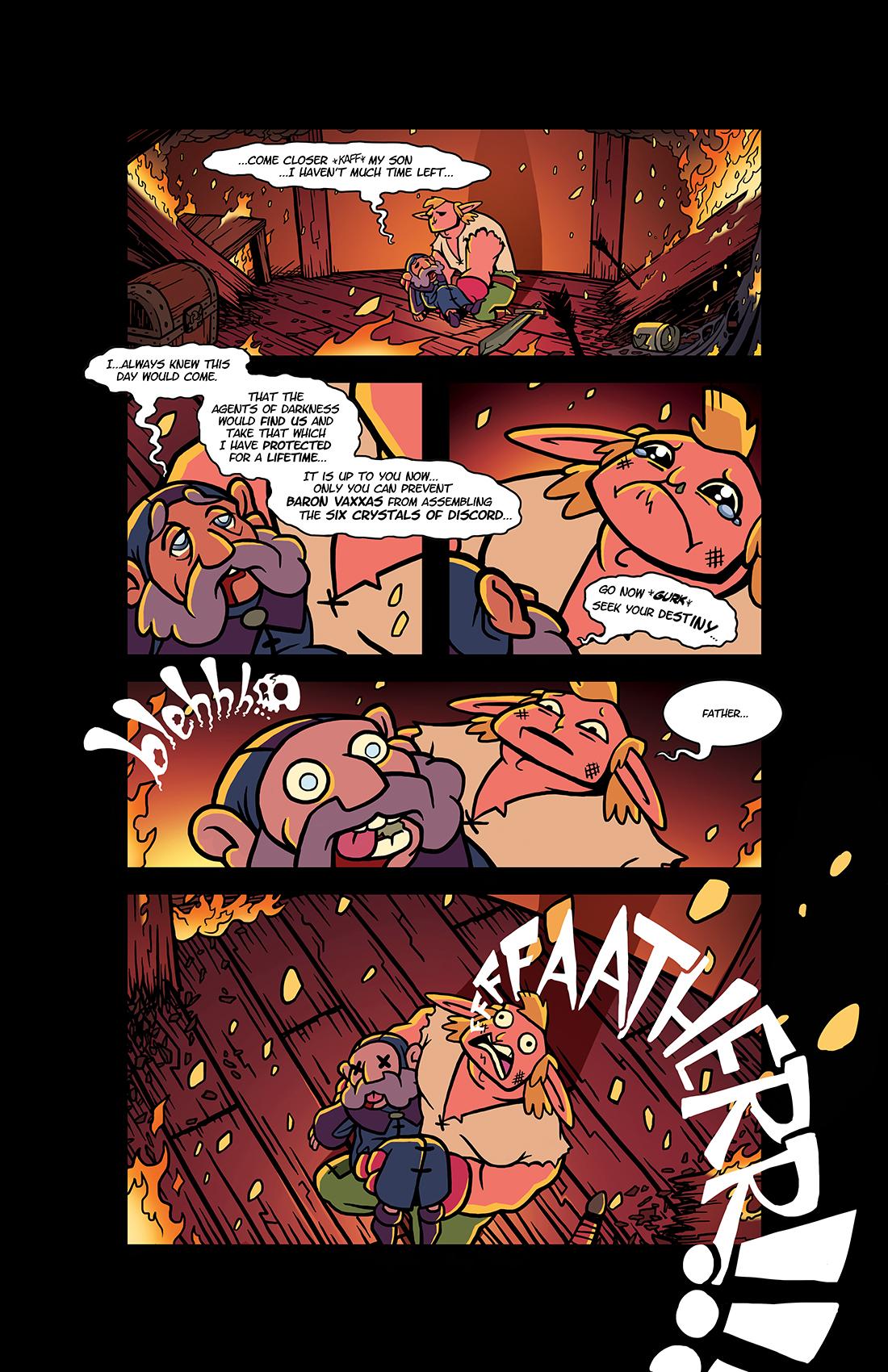 'NPCs' Page One