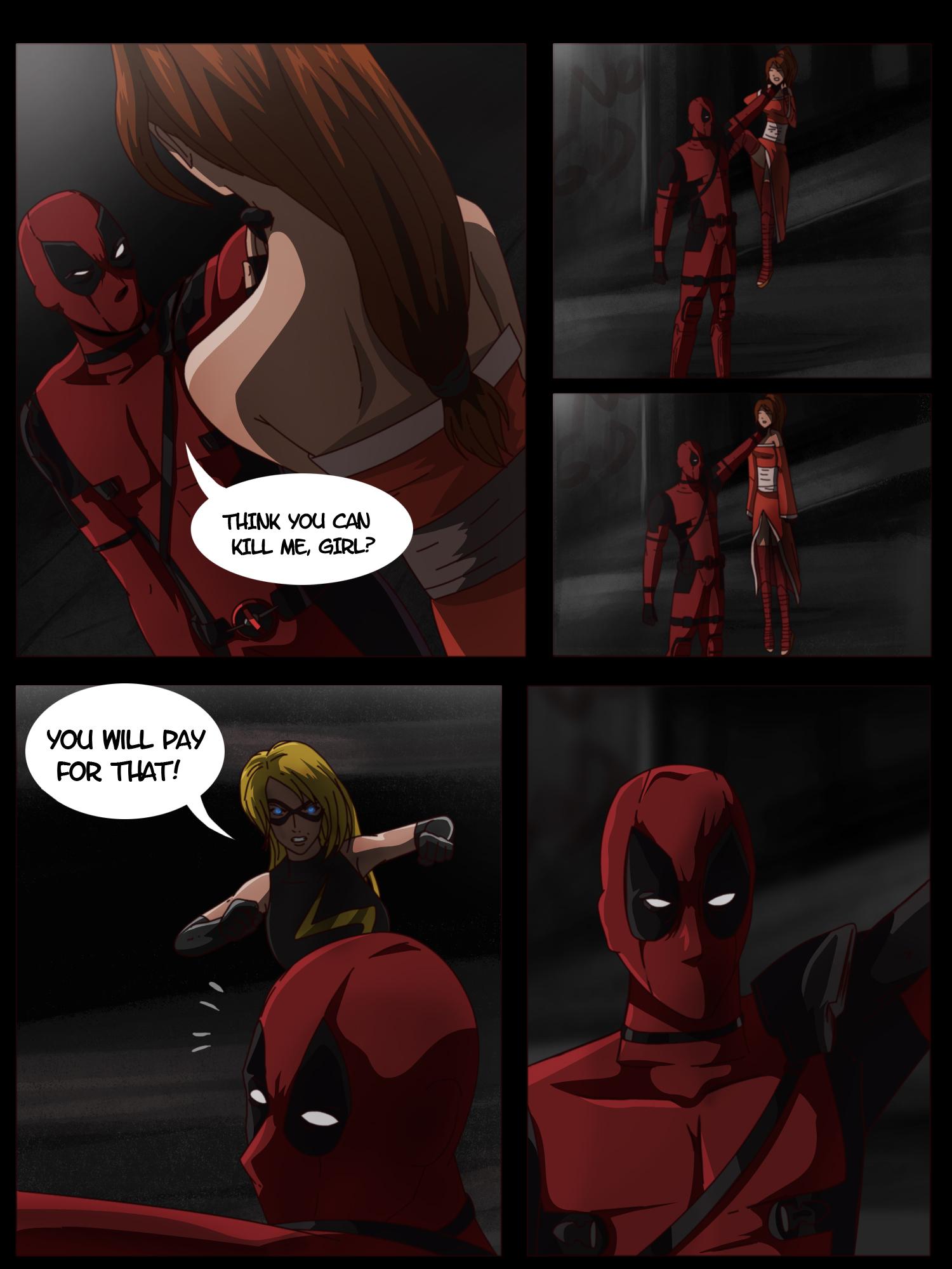 comic deadpool