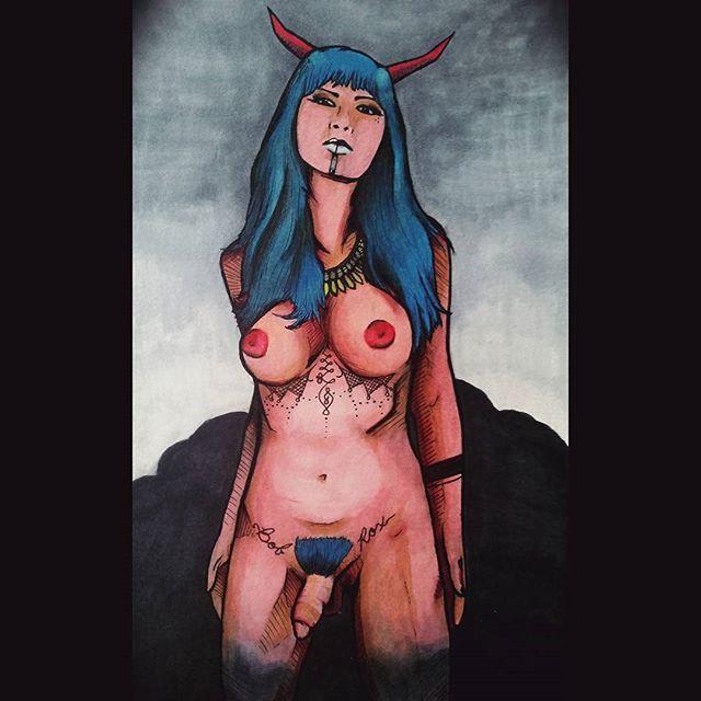 Demon Girl (adult)