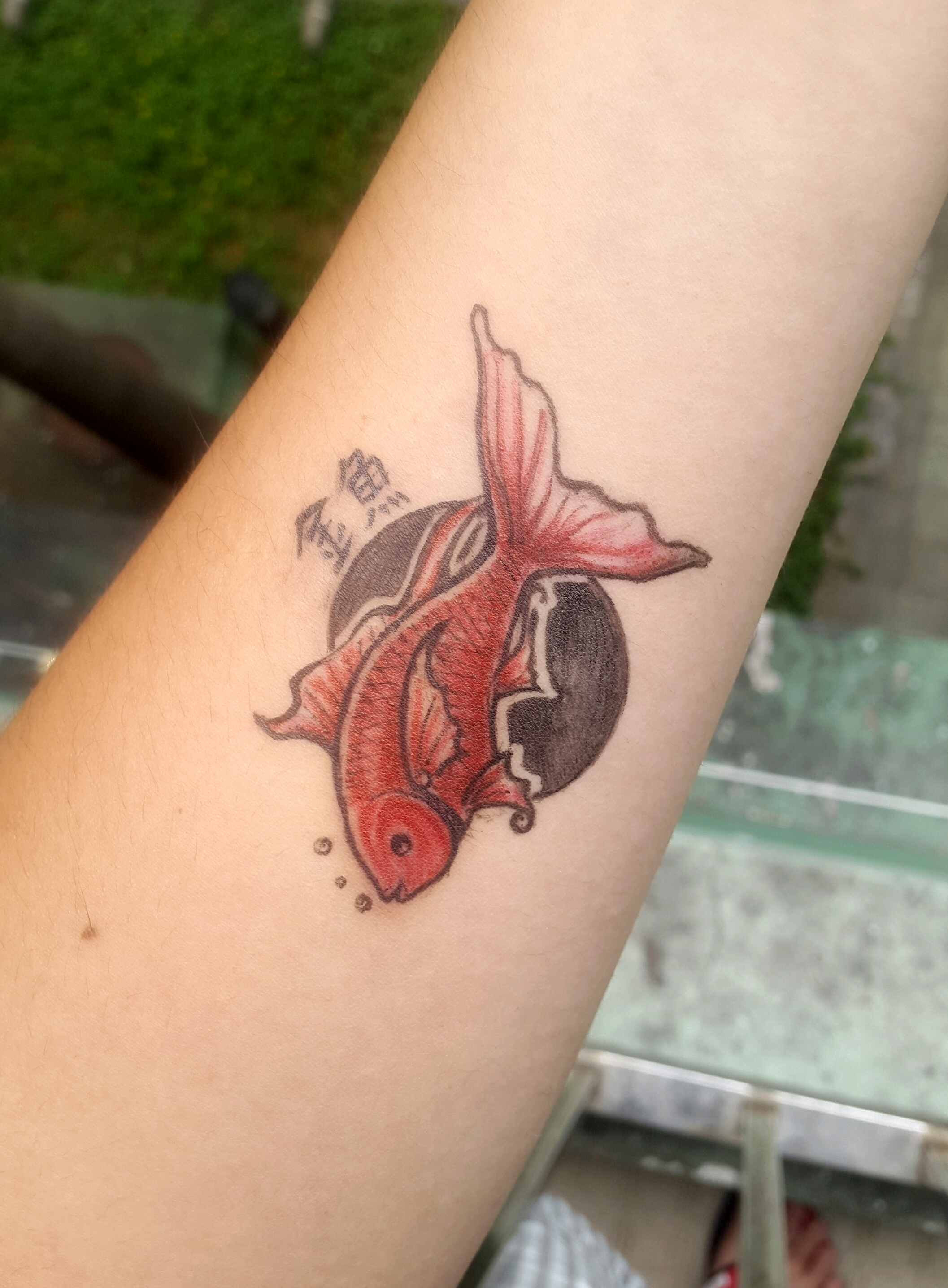 Hospital diy tattoo 2