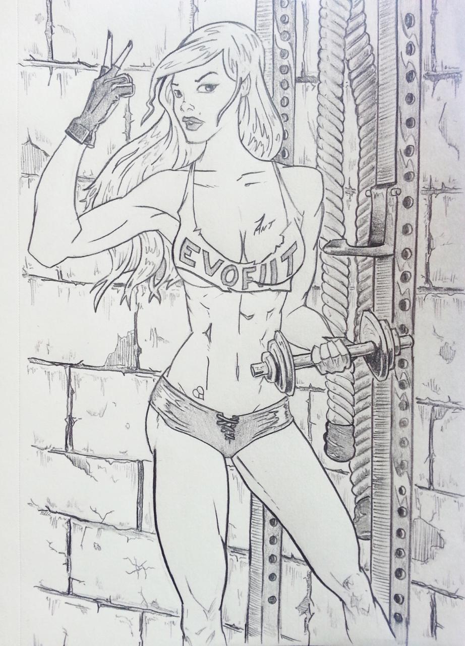Evofiit girl