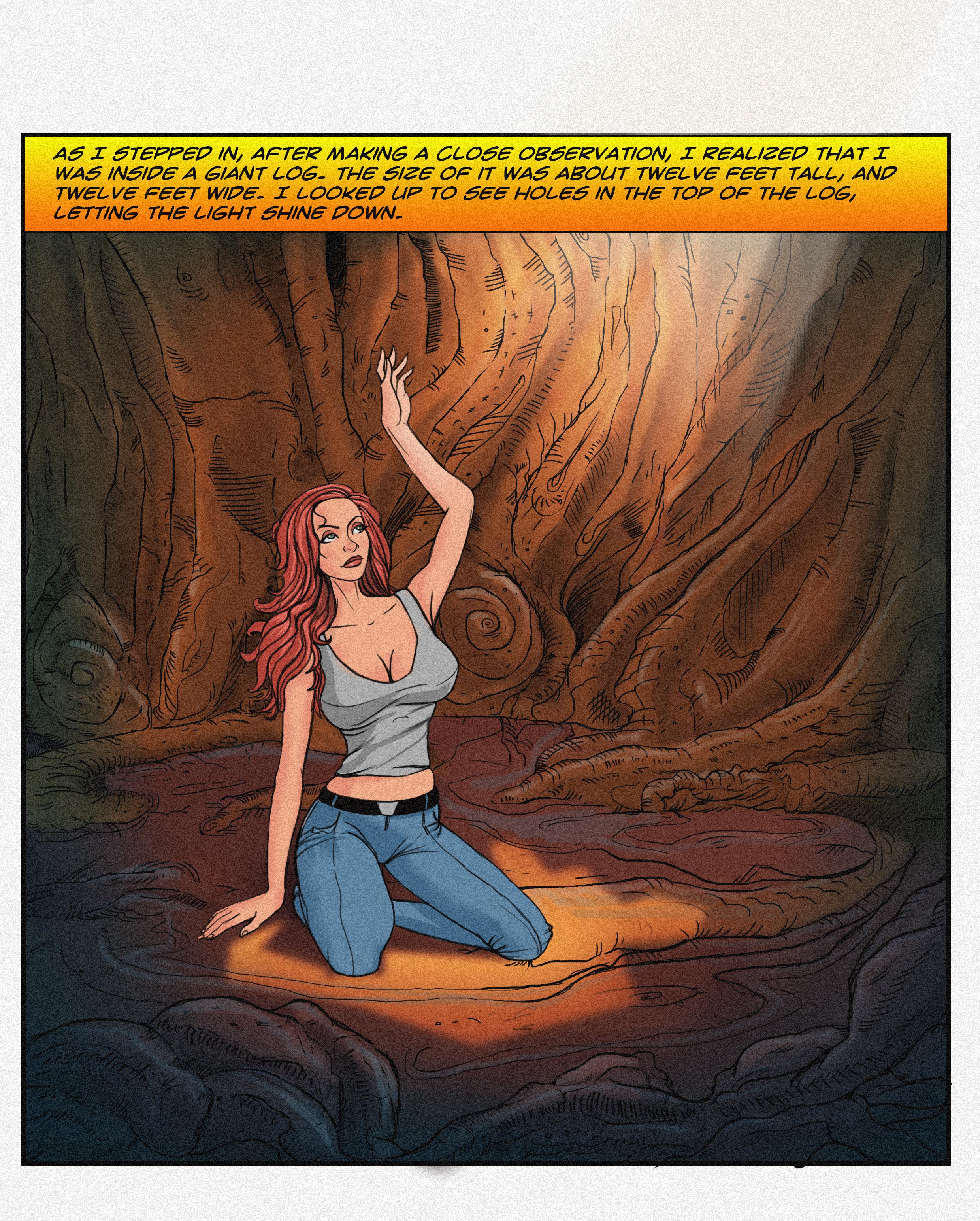 Krystal - Venturescape - Concept - Comic Panel