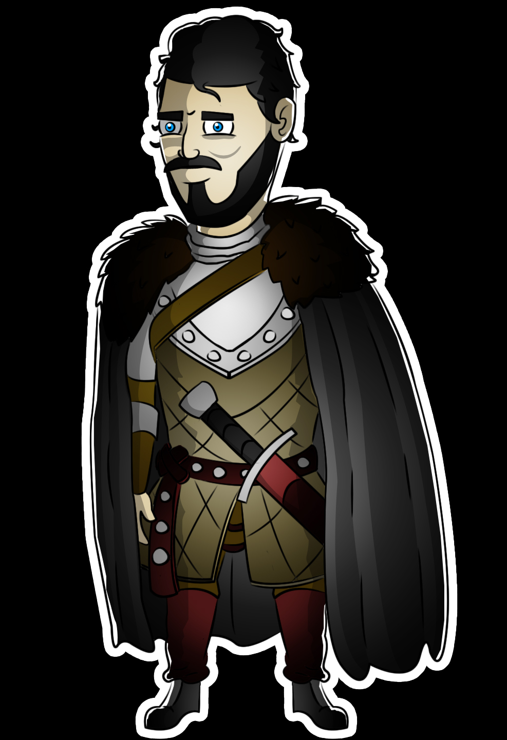 Rob stark (The king in the North)