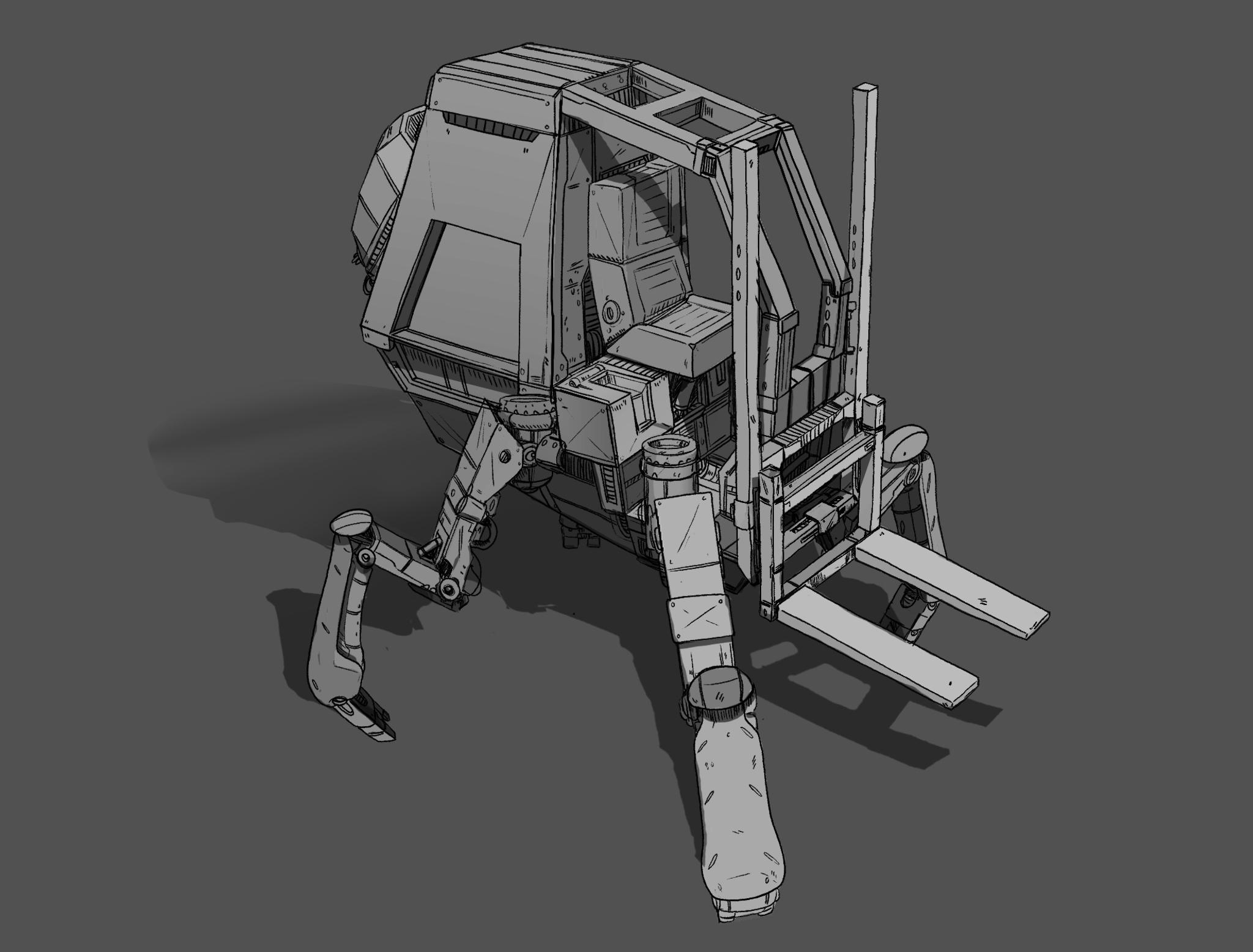 Forklift concept