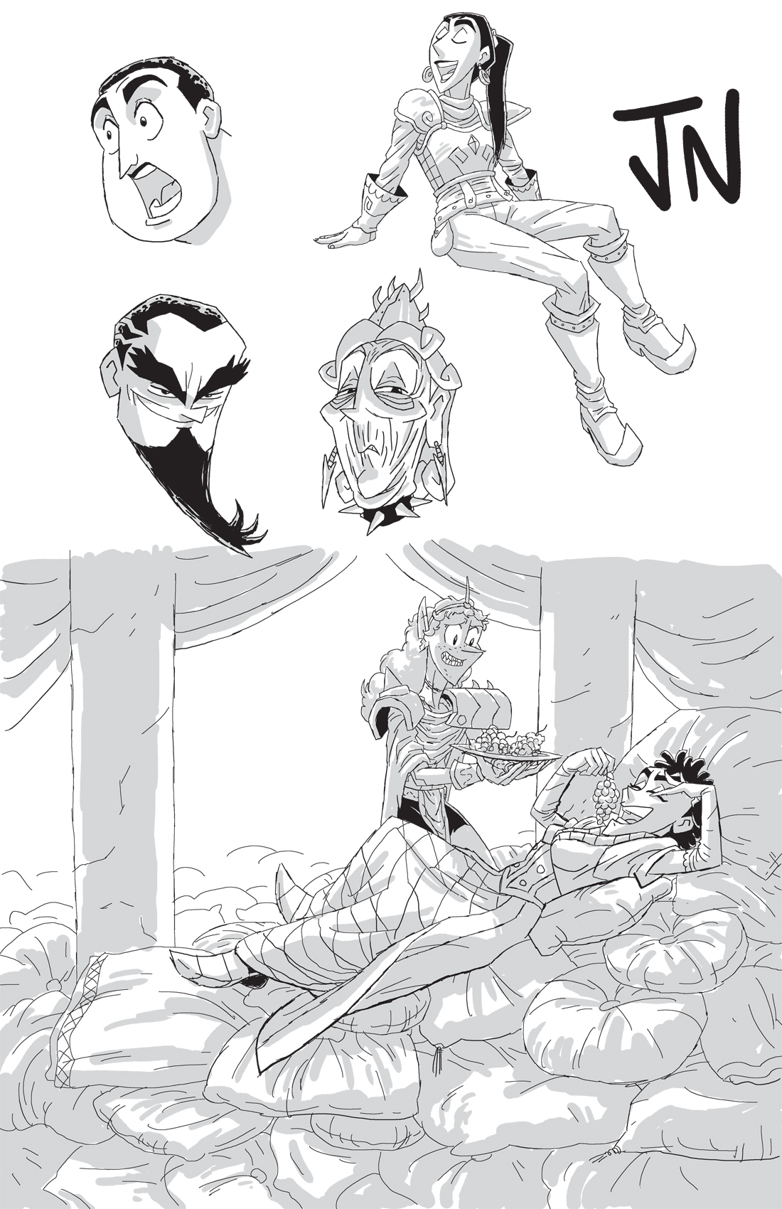 Patreon Sketch 14