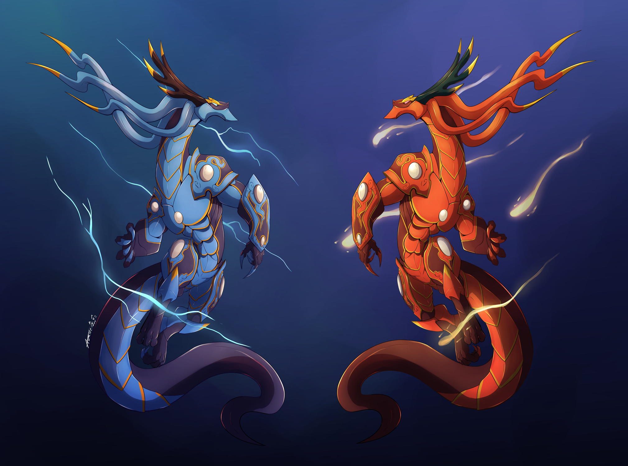 The Twin Dragon Kings