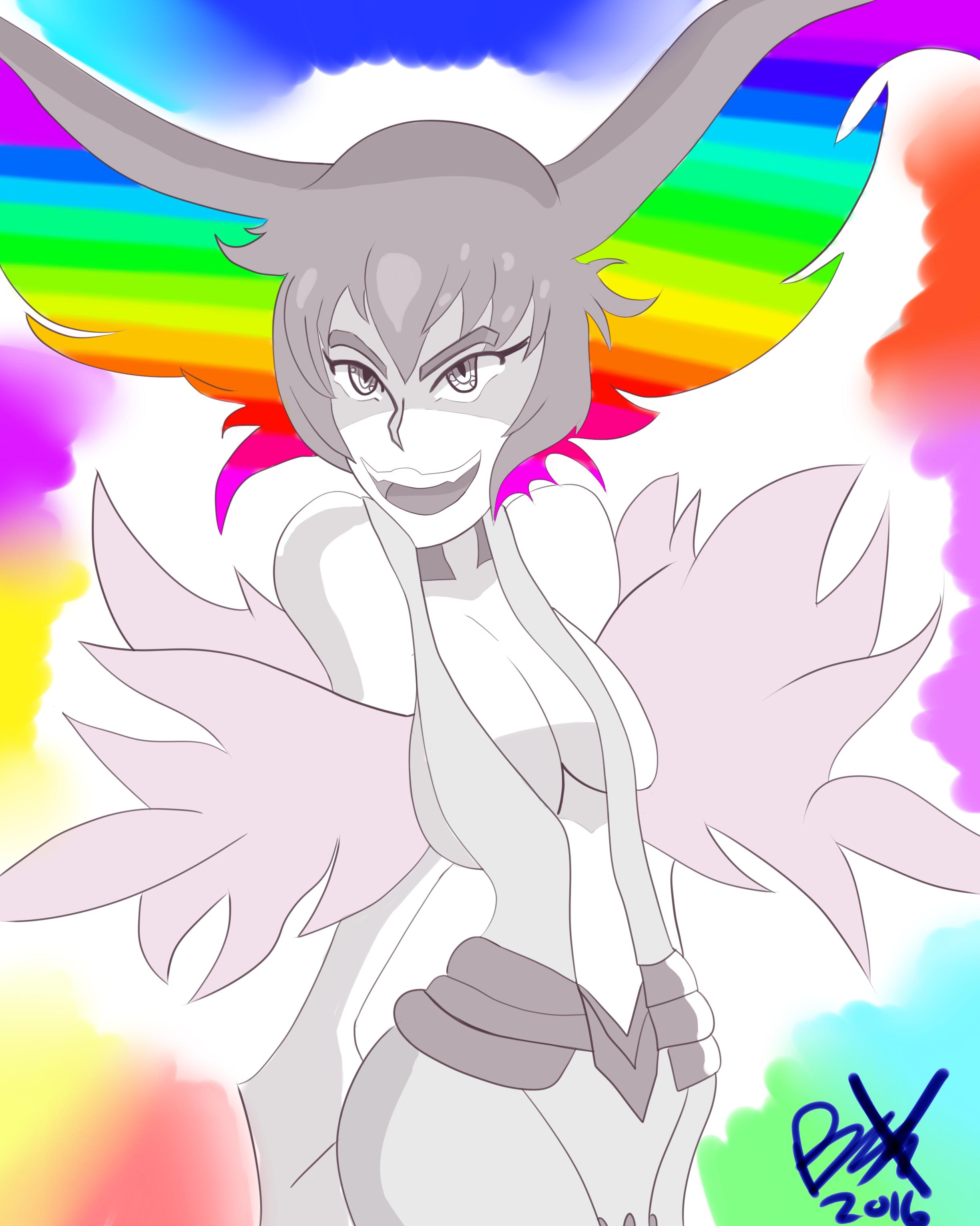 Rainbow Mom