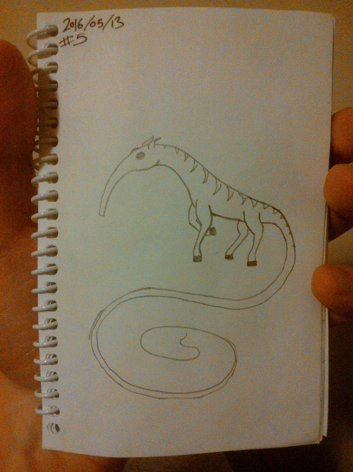 Every Day A Drawing #5: Thing?