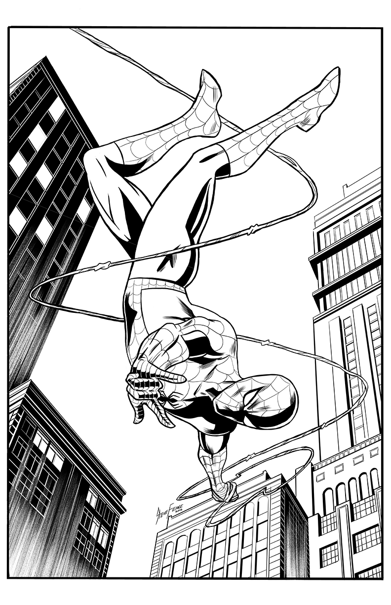 Spider-Man Pinup/Cover Assignment