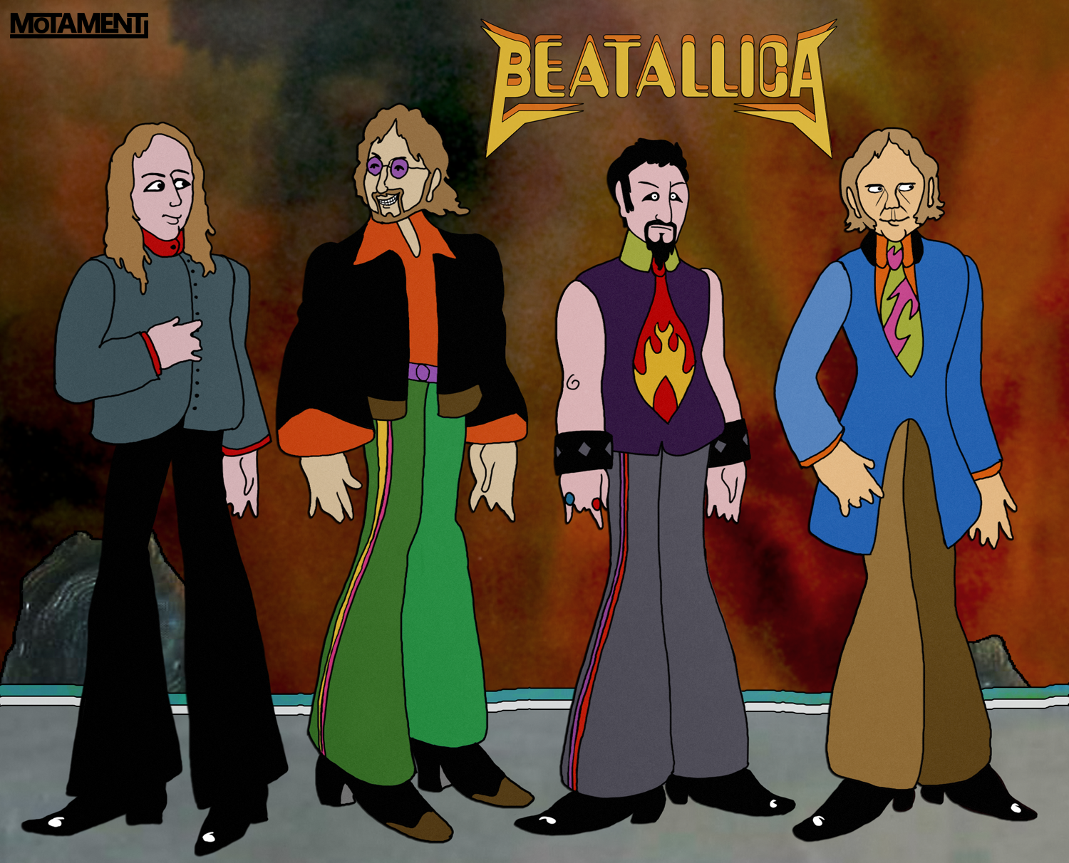Beatallica - Yellow Submarine