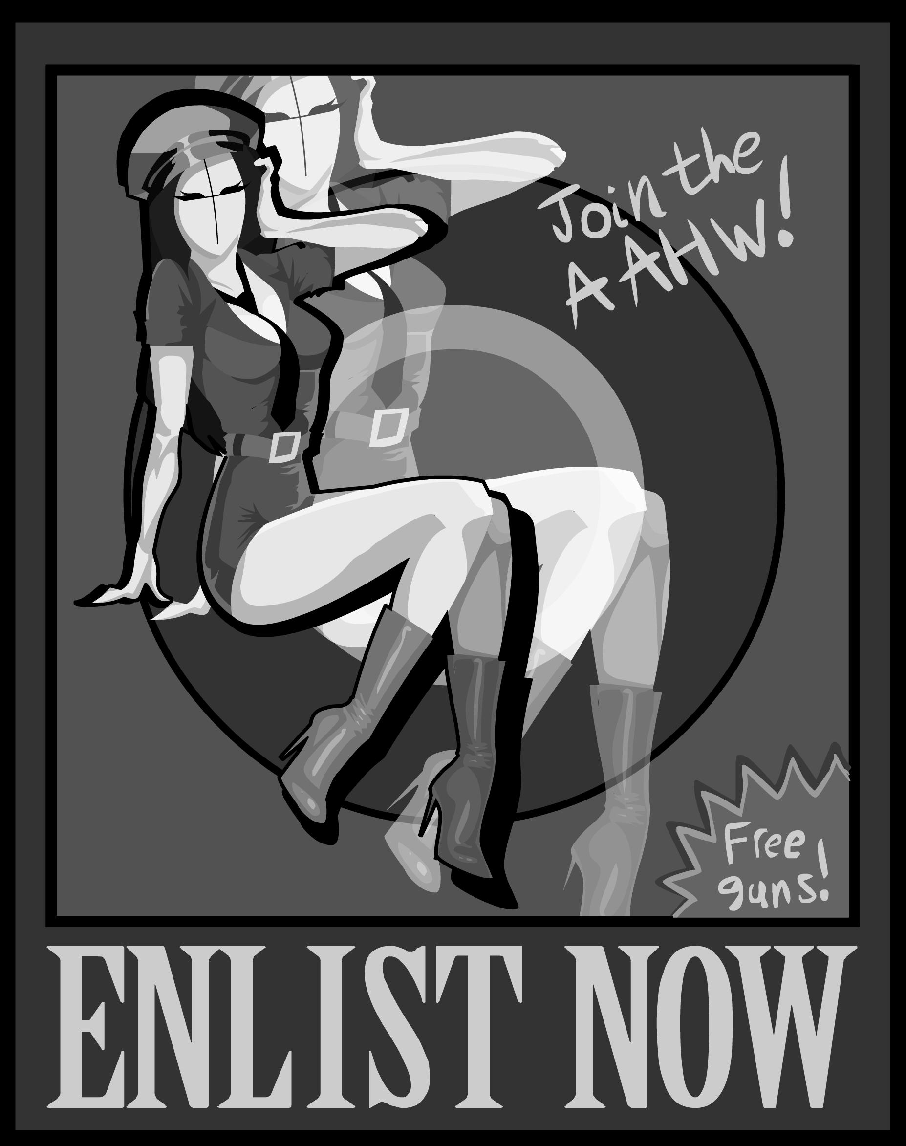 A.A.H.W. Poster
