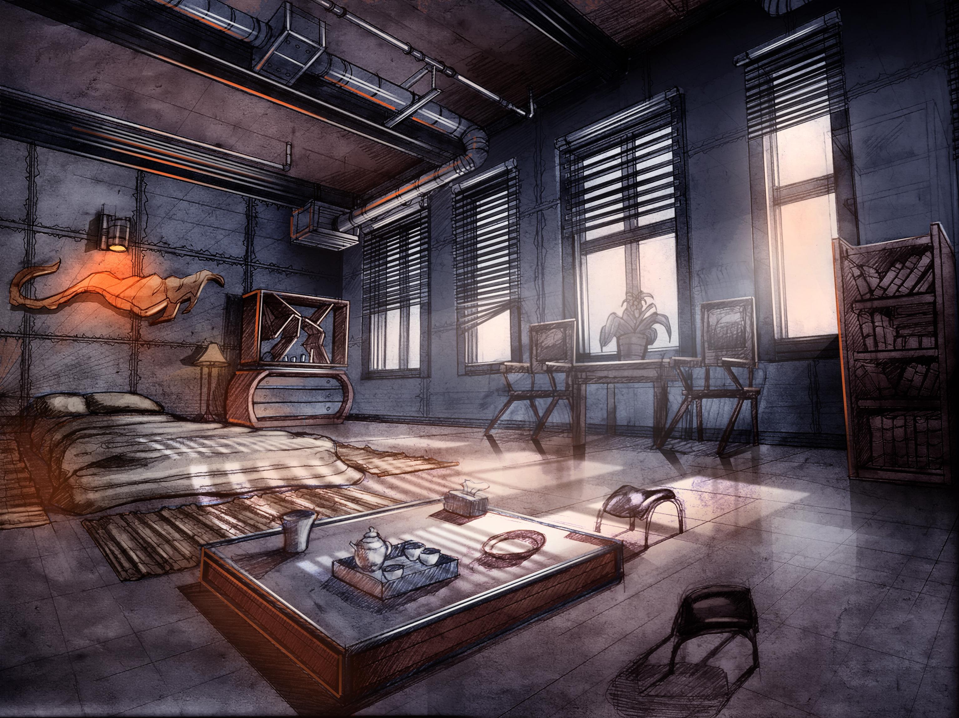 Connor's loft 3