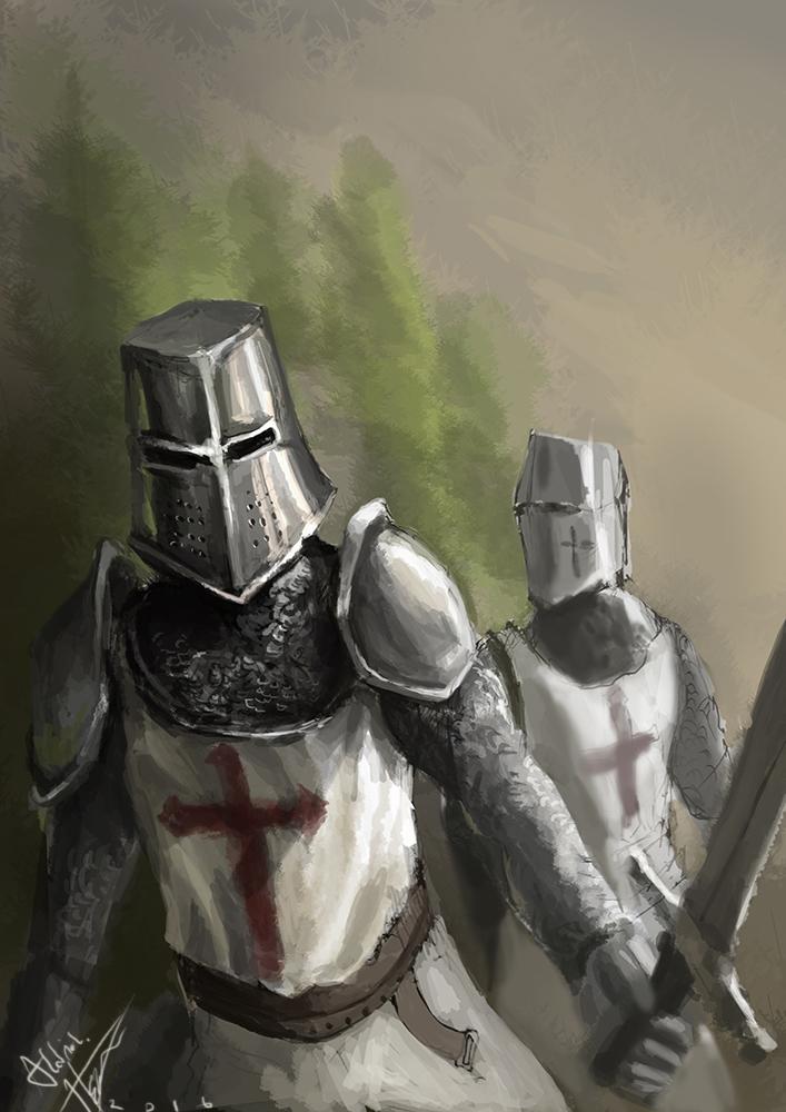Templar sketch