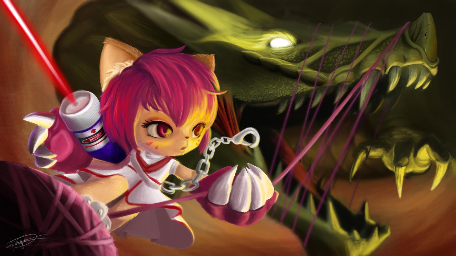 COTM Dragons VS Kittens
