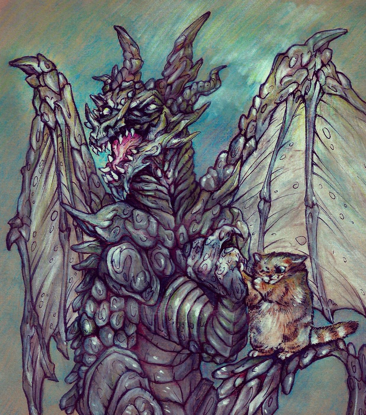 Armwrestling with da dragon