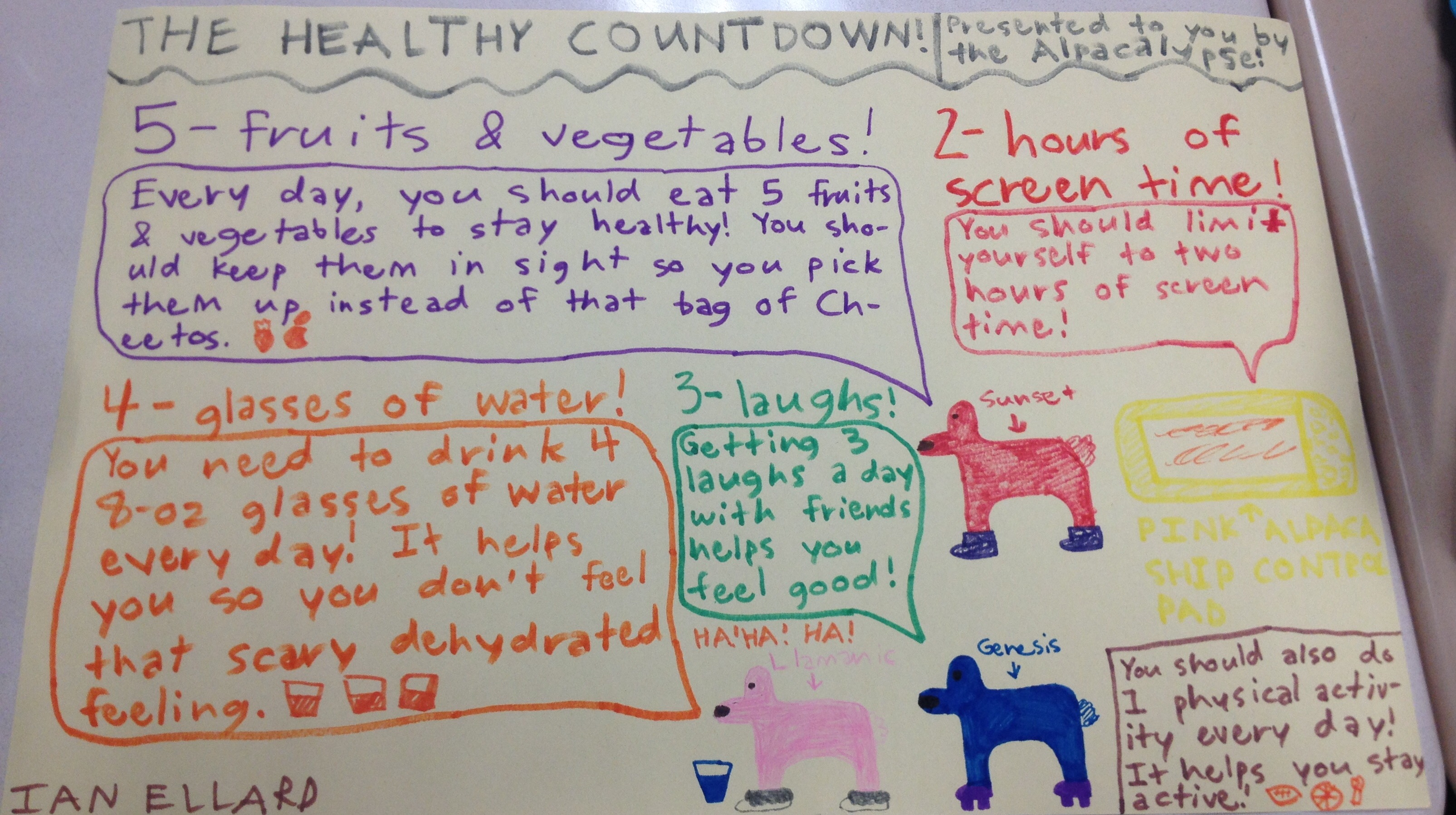 The Healthy Countdown!