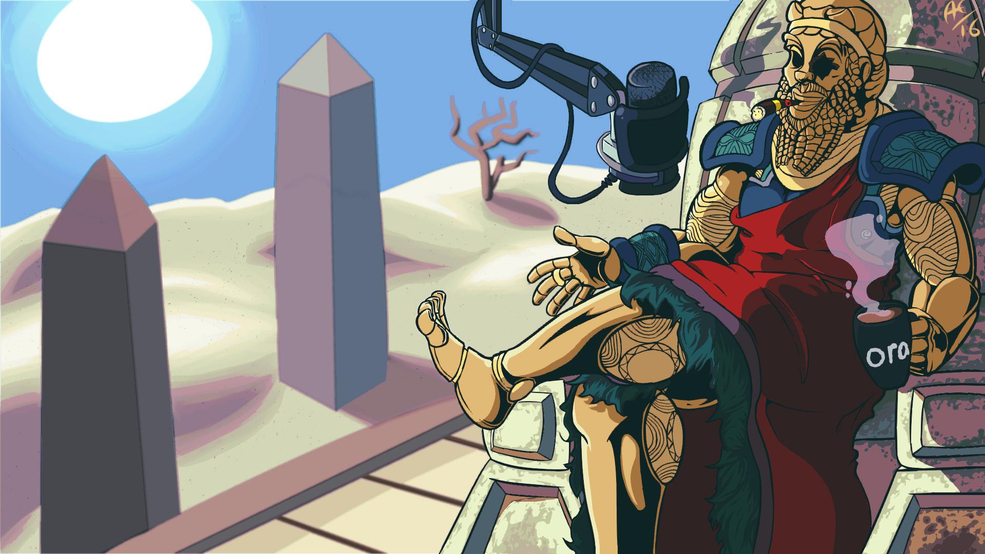 Sargon of Akkad Ora.TV competition piece