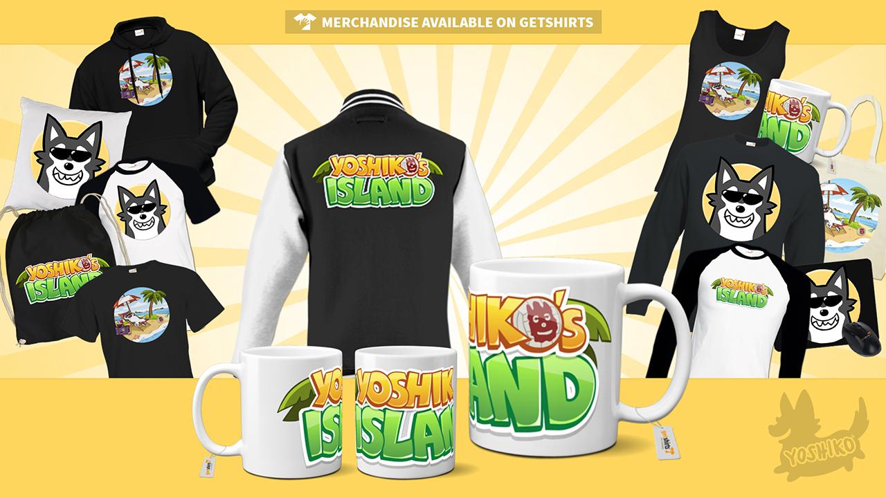Yoshiko Merchandise Release