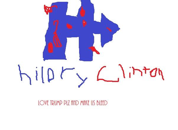 hillory clinton is bleeding