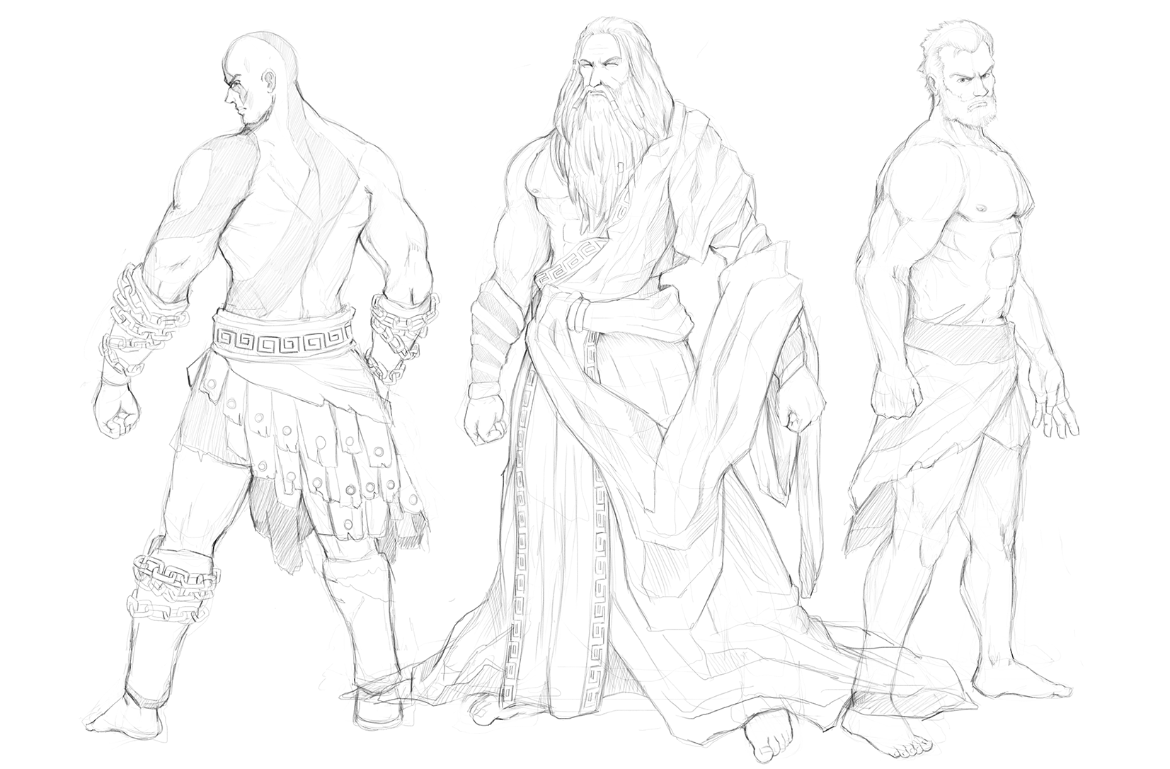God of War Sketches