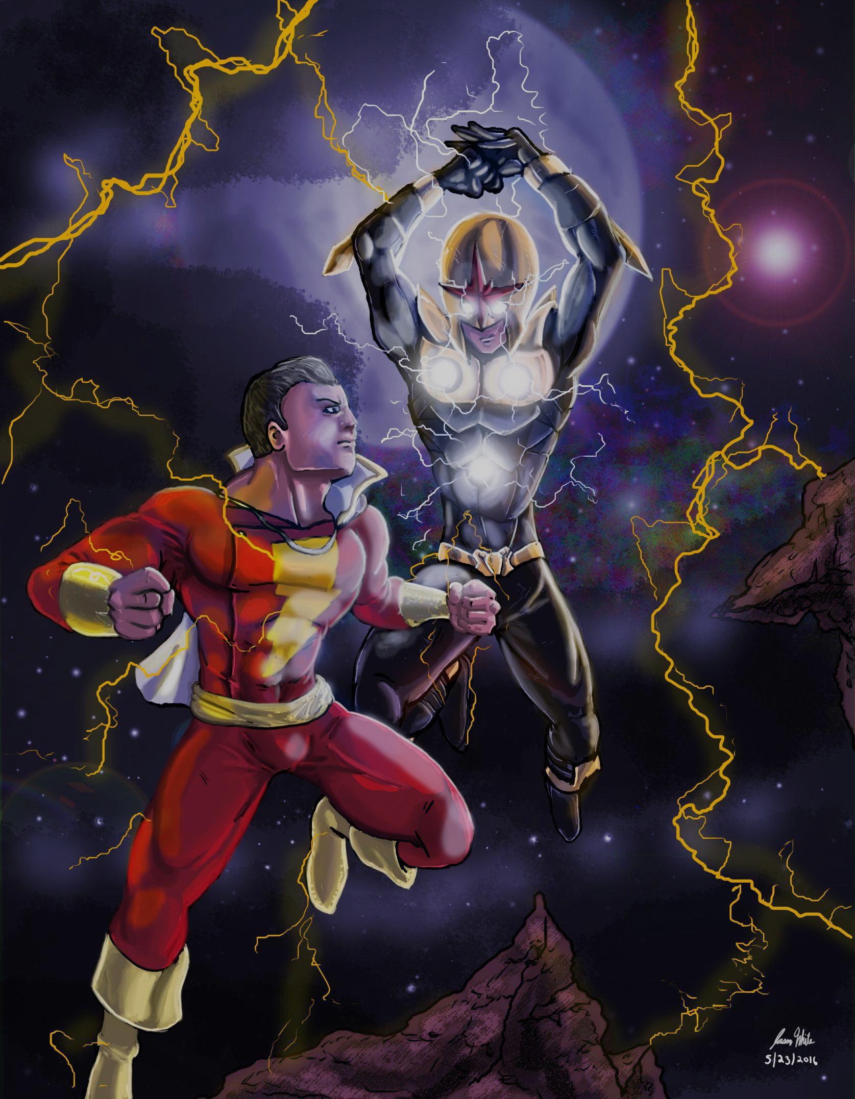 Captain Marvel vs Nova Prime