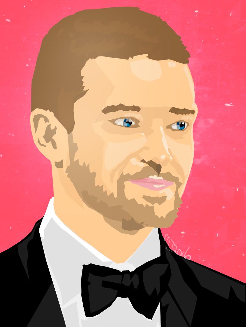 Justin Timberlake - Adobe Photoshop CS5