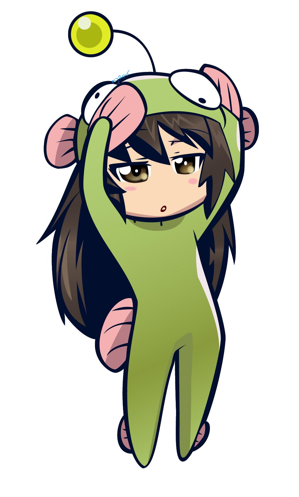 Manga Girl - Adobe Illustrator