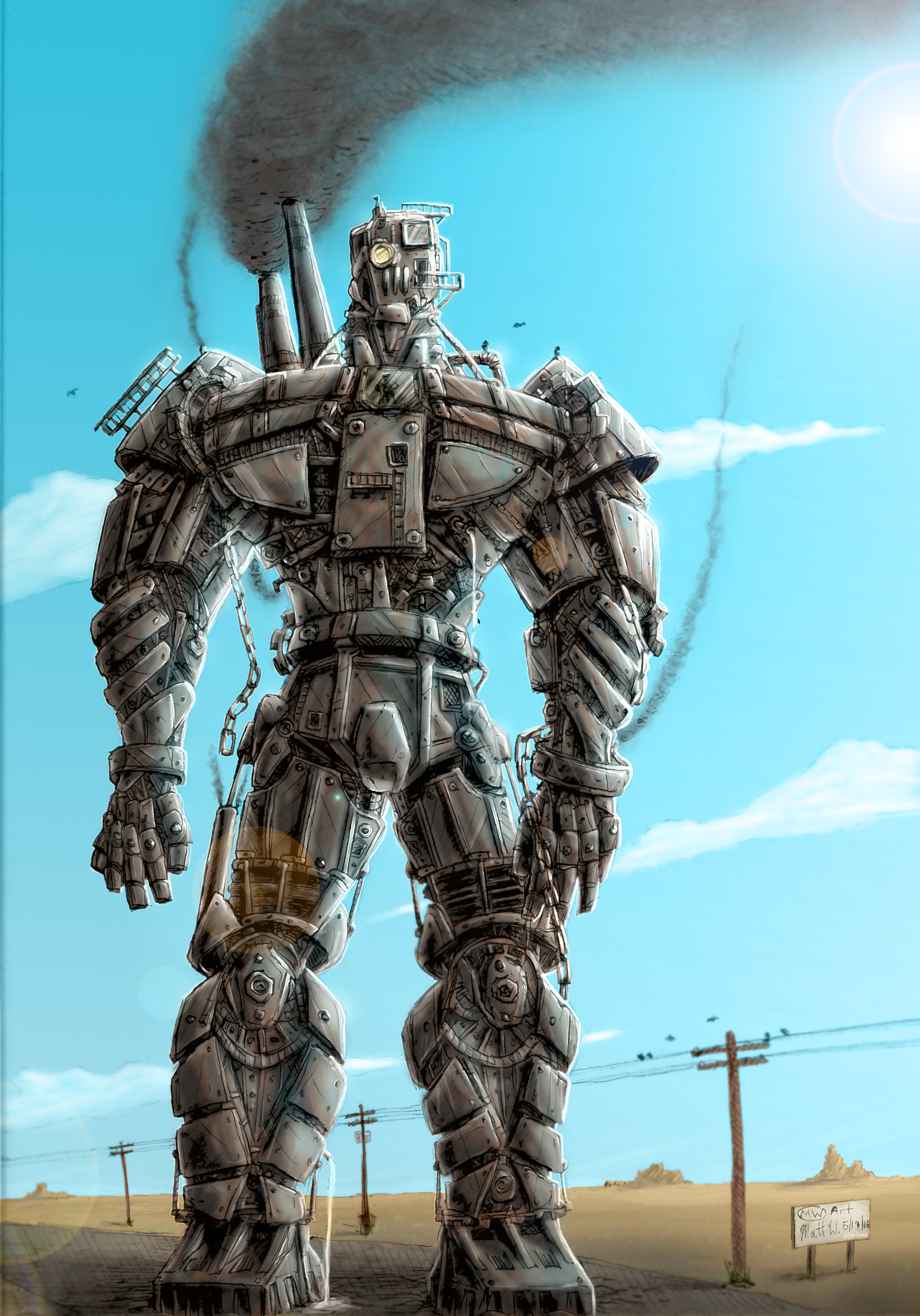 Steam-bot by MWArt on Newgrounds