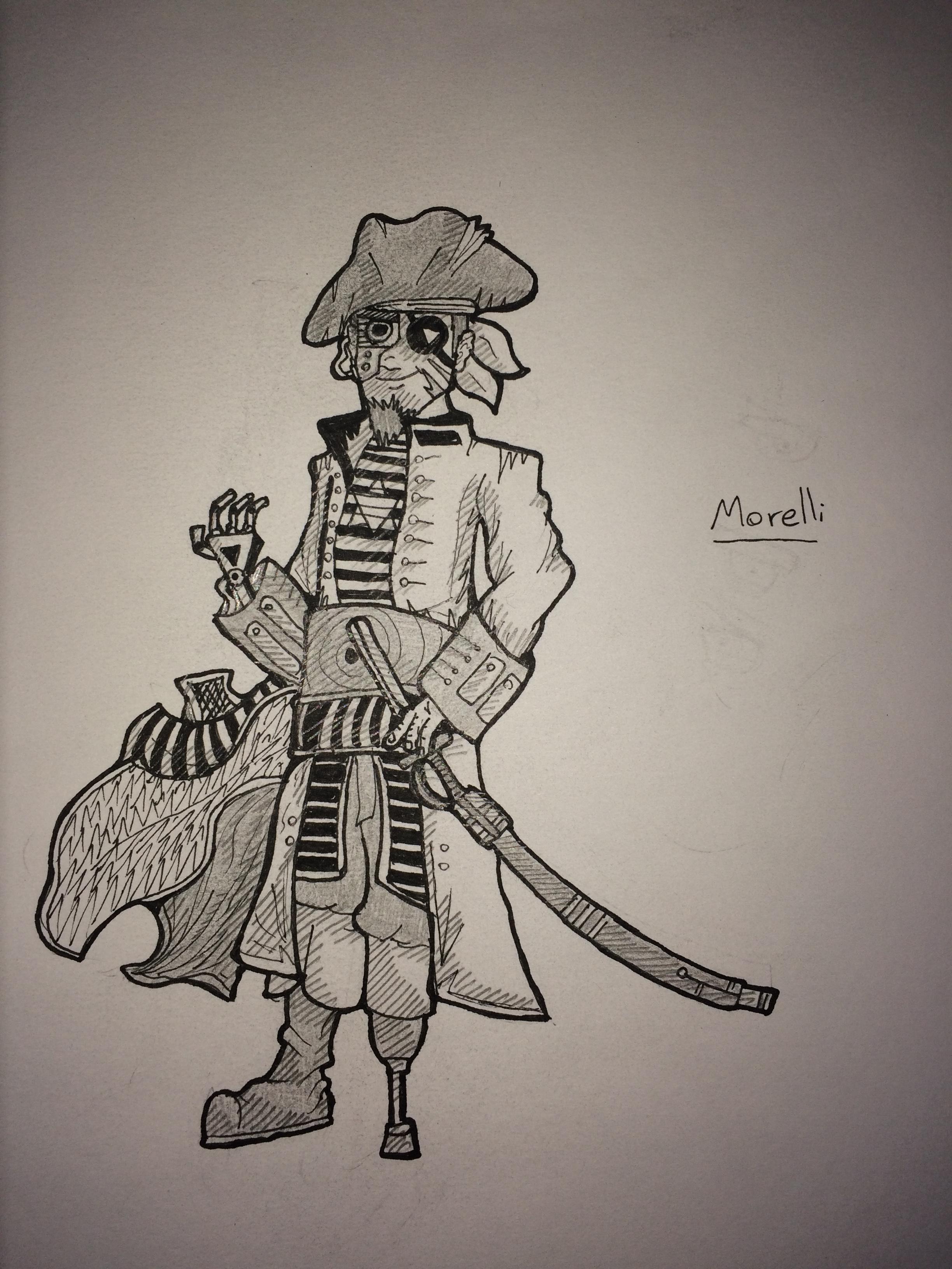 Original Character- Pirate