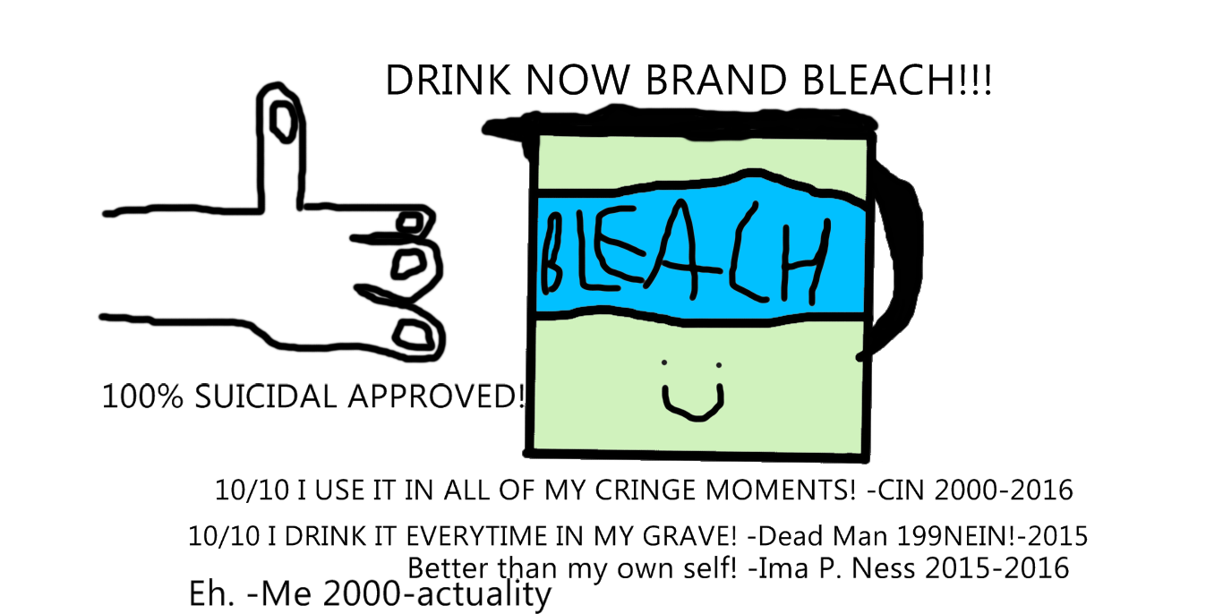 Buy now some bleach!!! its only 1000 dollars!