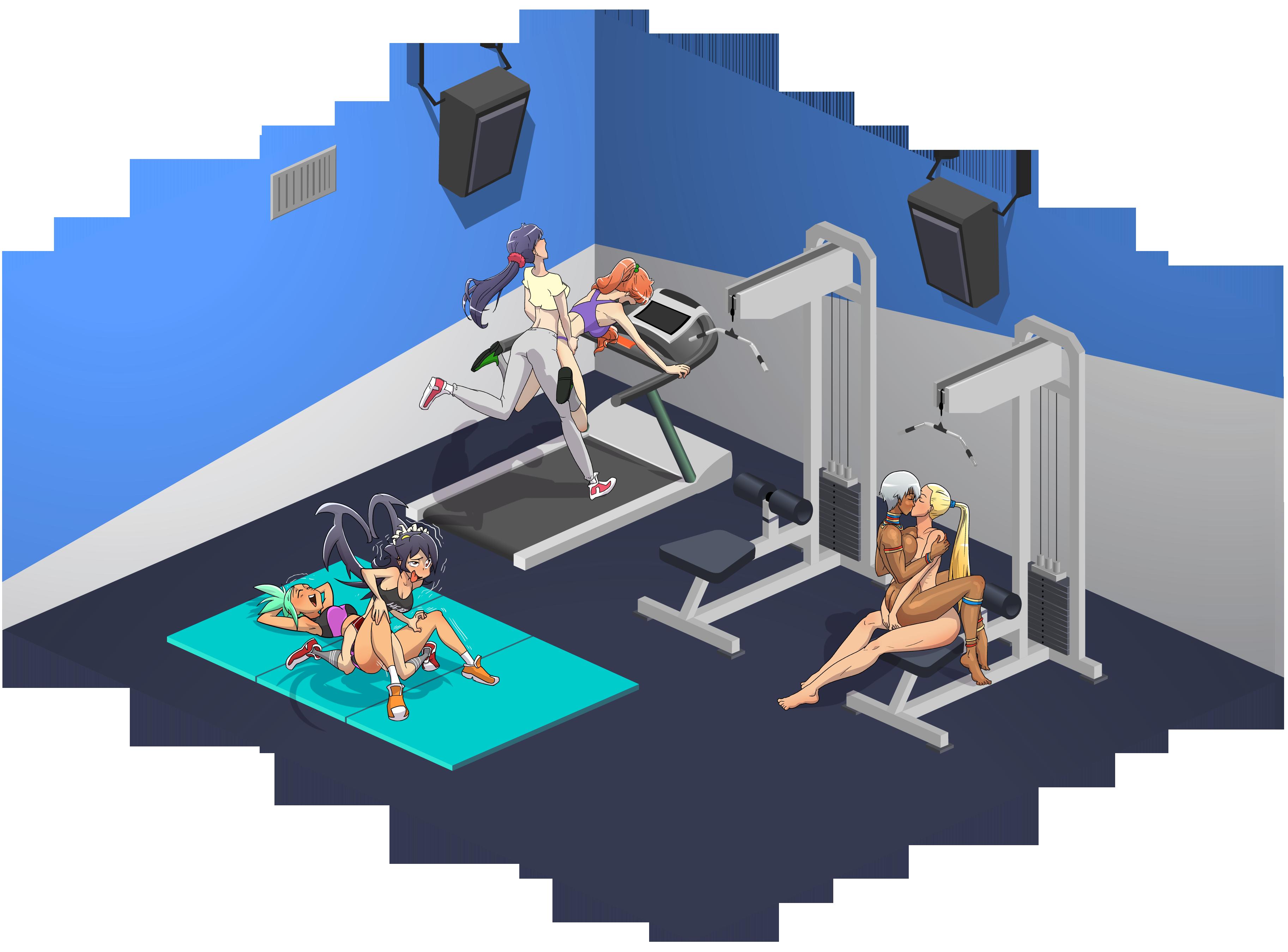 BlackHawkEye- Gym