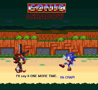 Sonic 'N' Shadow 1