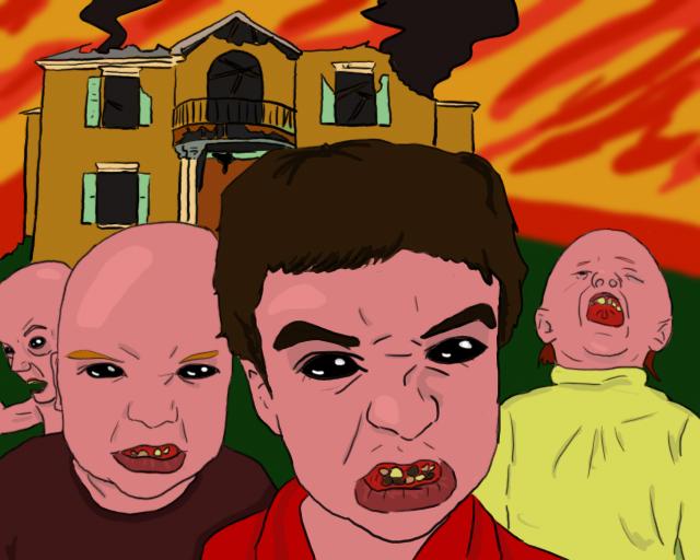 Four little demons