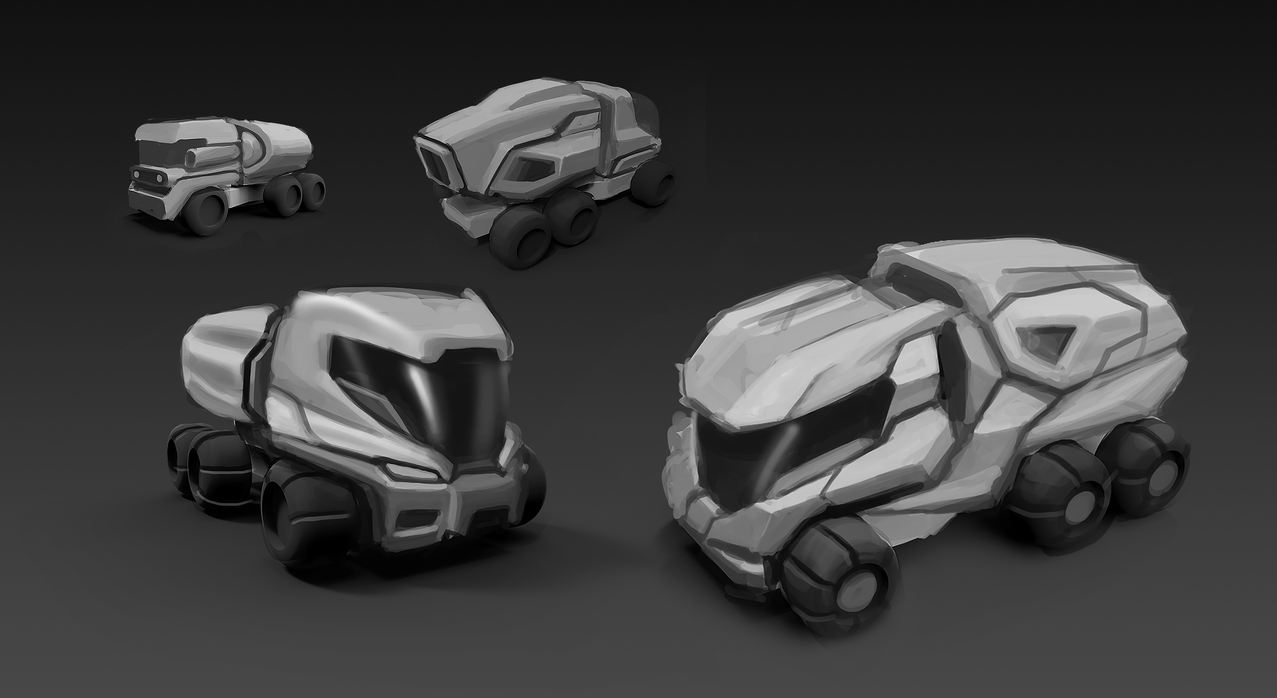 Truck Concept Design Sketch