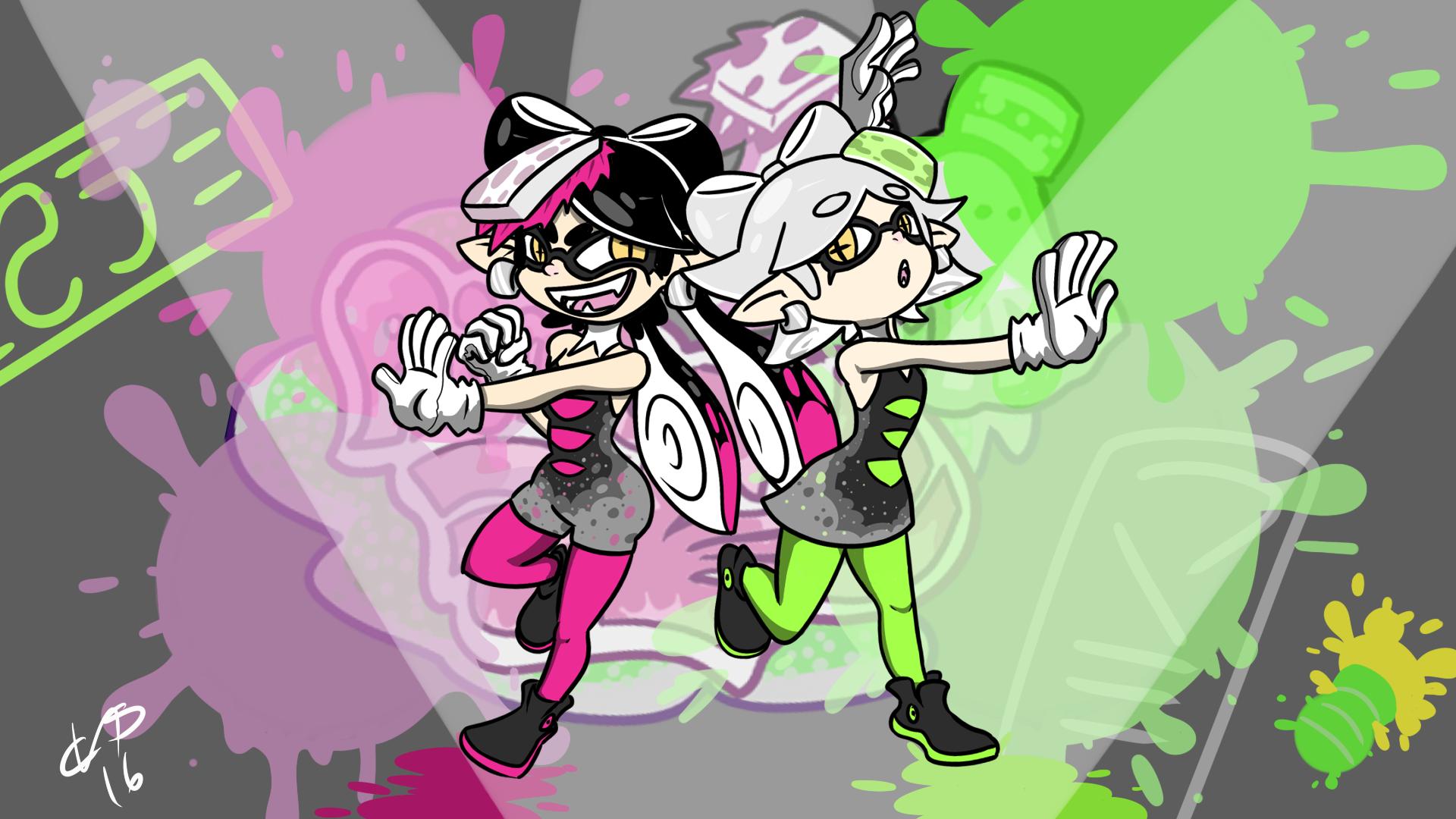 Squid sister!