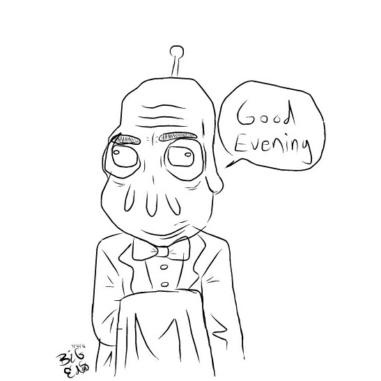 Old Alien Butler
