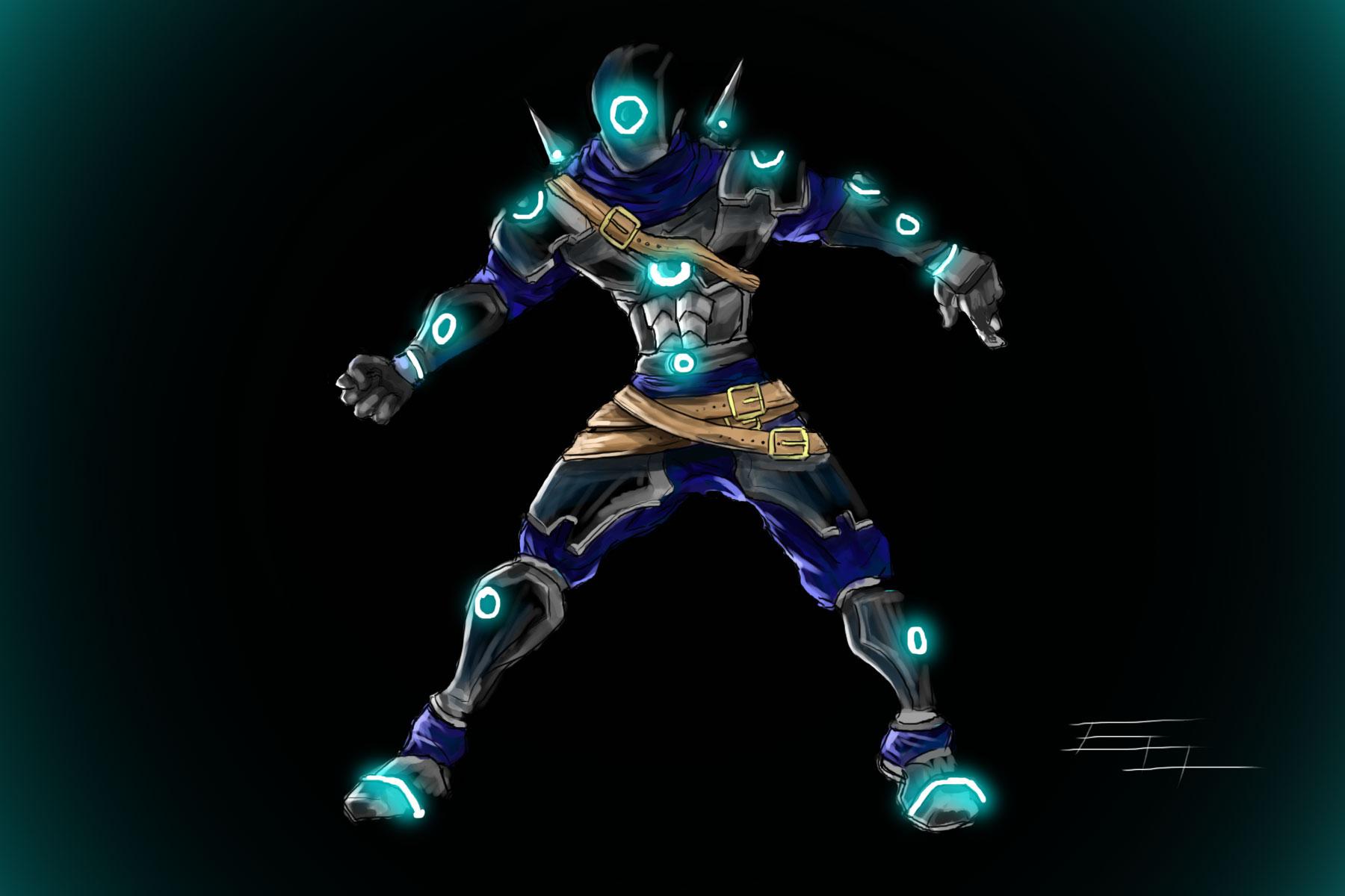 sci fi futuristic soldier V.2