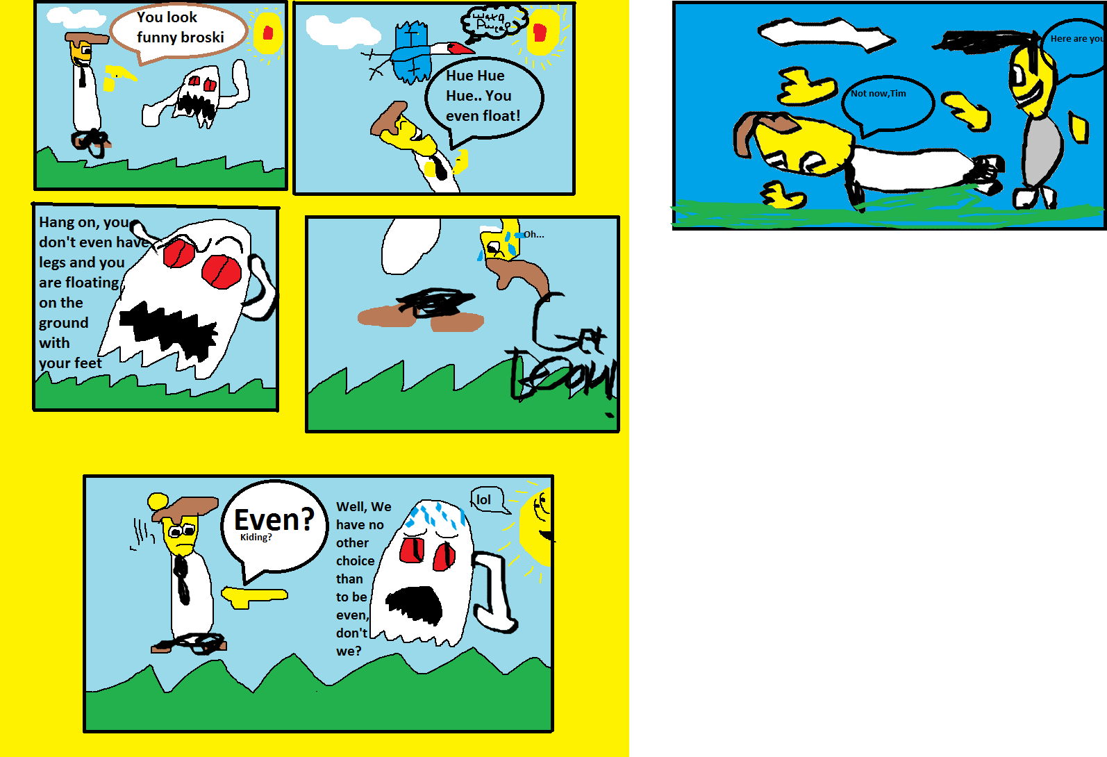Tim and Jake:Jake vs Ghost