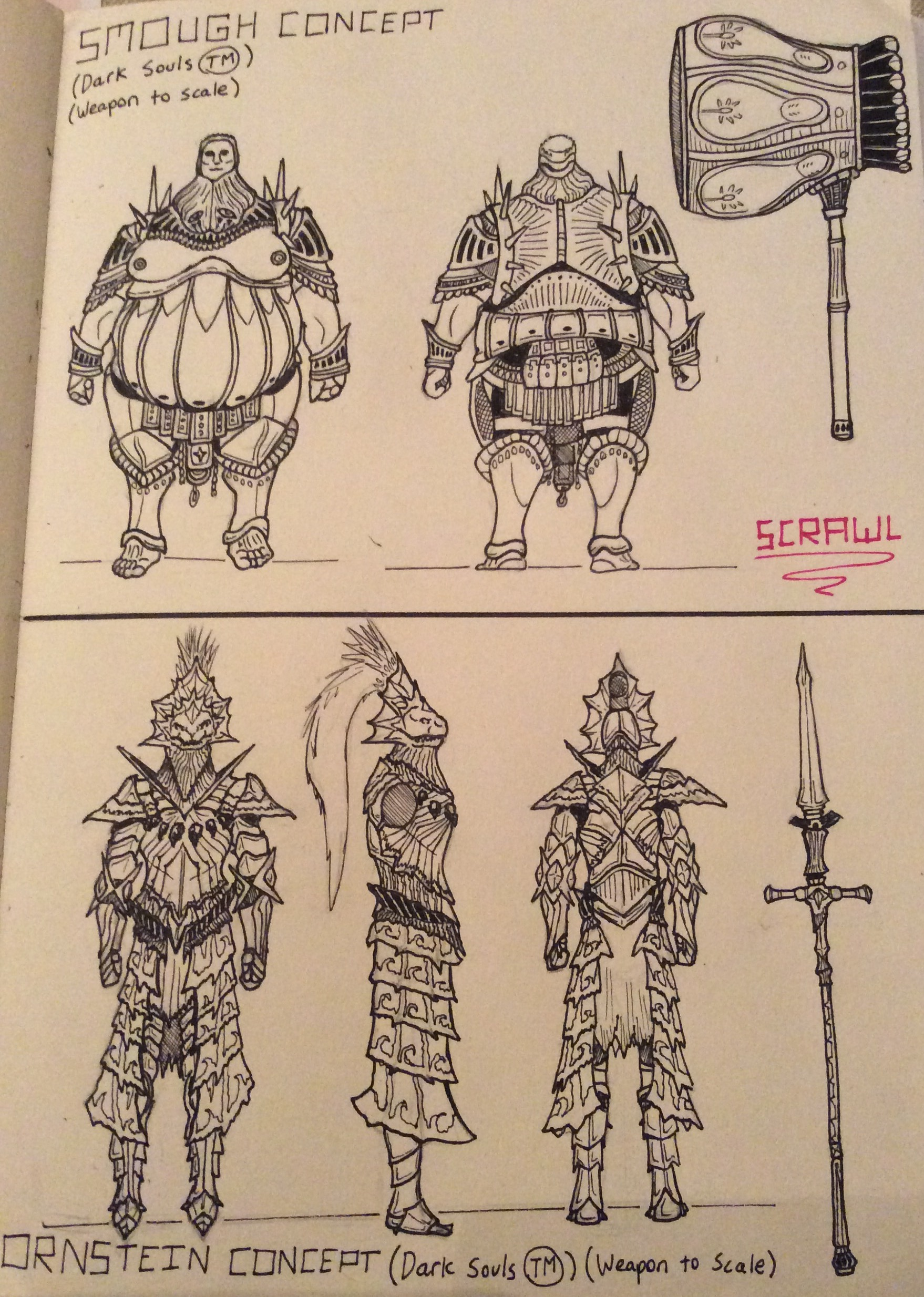 Smough and Ornstein Concepts