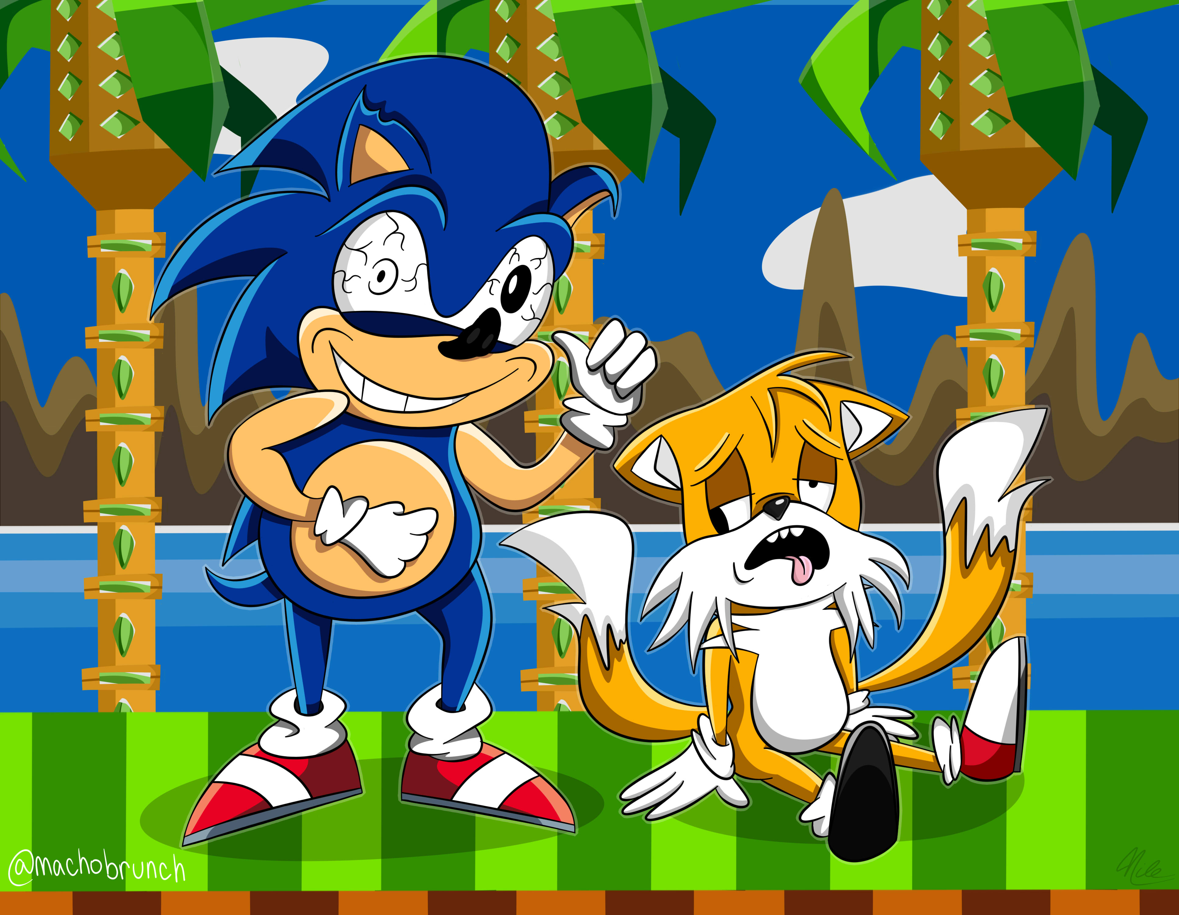 Sonic n' Tails