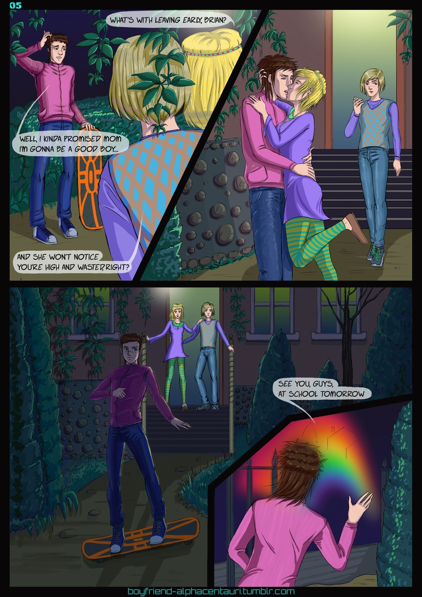 My Boyfriend's from Alpha Centauri_Chapter 1_Page 05