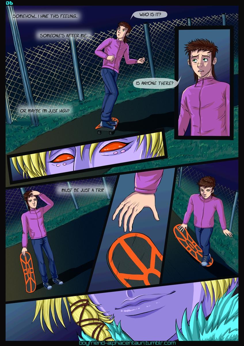 My Boyfriend's from Alpha Centauri_Chapter 1_Page 06