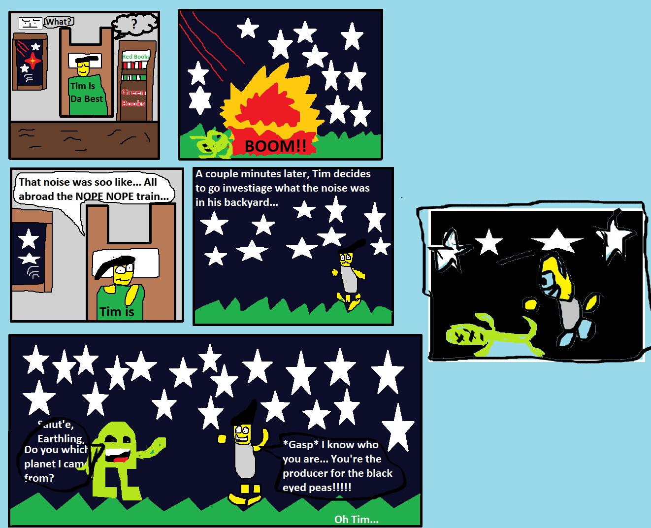 Tim:The alien