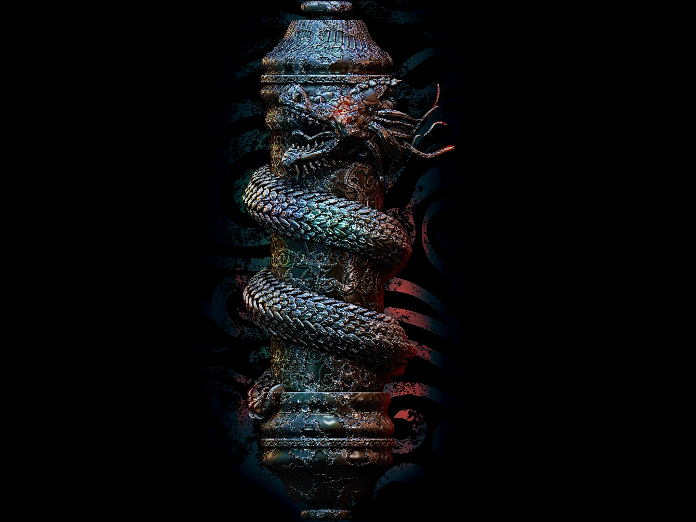 Dragon Scroll