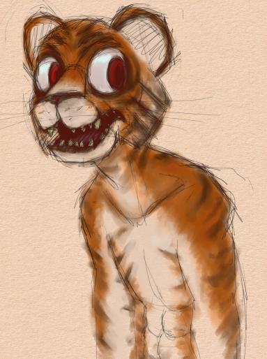 Tiger Creature