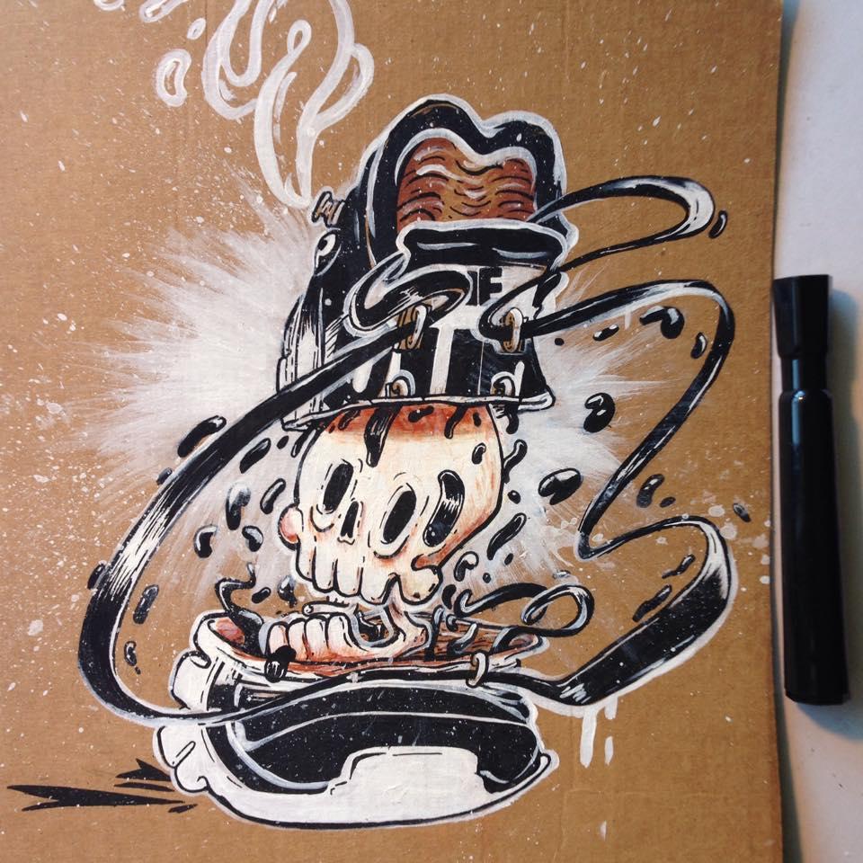 Z- Pump skull