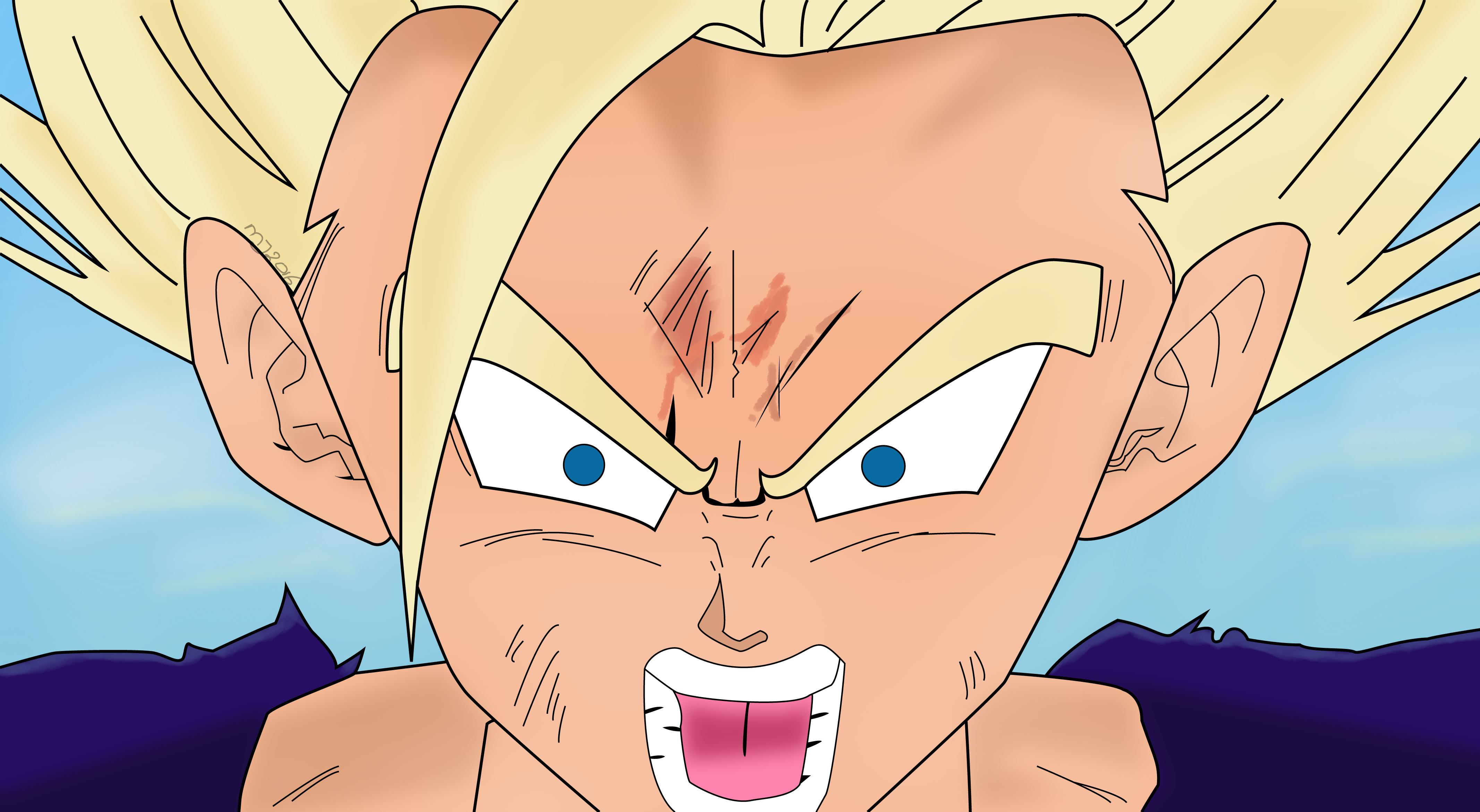 Gohan SSJ2 (Character from the Anime series Dragonball Z)